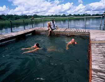 Ngepi Camp Pool